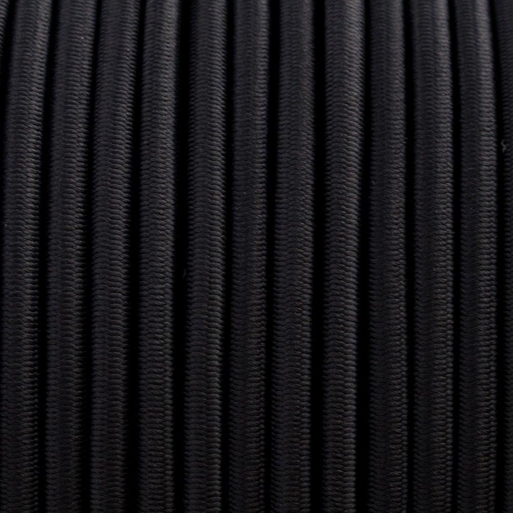 Zwart - Elastiek Koord 4 mm