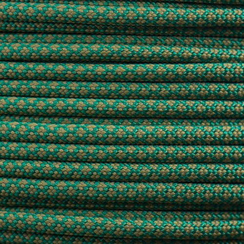 Kelly Green & Moss Diamonds Paracord Type III
