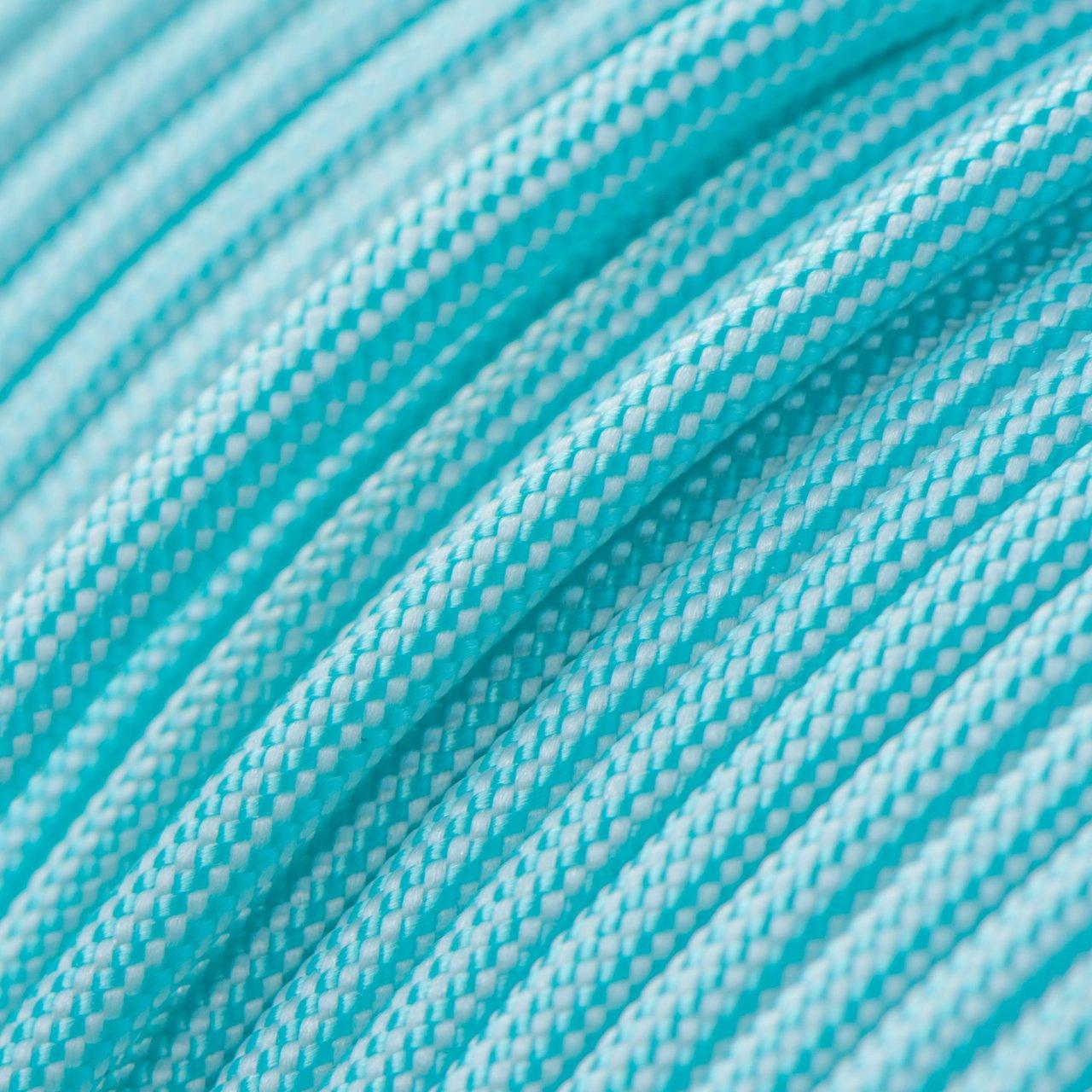 Turquoise & White Stripes Paracord Type III