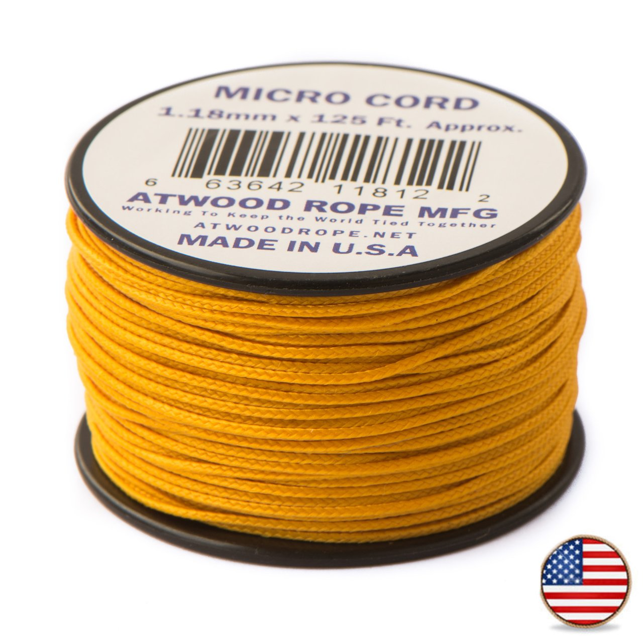 38 mtr. Air Force Goud  - Micro Paracord