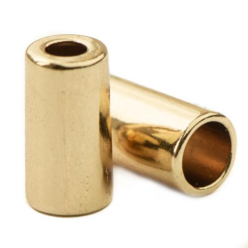 Koord Eind 'Light Gold' 15 mm. (1 stuk)